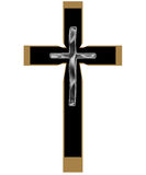 Cross. 3d render of the isolated cross stock illustration