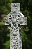 Cross. Celtic-style cross, limited depth of field, focus on cross Stock Photography