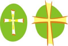 Cross. Two versions vector illustration