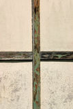 Cross. Detail of old outbuilding Stock Images