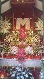 Cross adorned Royalty Free Stock Photo