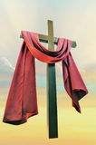 Cross against the sky Stock Photography