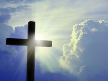 Free Cross Against The Sky Royalty Free Stock Photography - 16625507