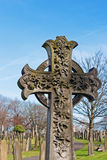 A Cross in ancient graveyard Royalty Free Stock Photography