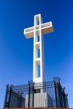 Cross atop Mount Soledad in La Jolla, California Royalty Free Stock Photo