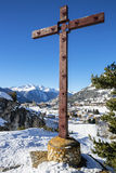 Cross and Aussois Stock Image