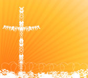 Cross Background Royalty Free Stock Image