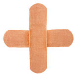 Cross band-aid Stock Photo