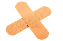 Cross Bandaid Royalty Free Stock Photos