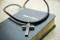 Cross with Bilble Royalty Free Stock Photos