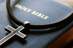 Cross with Bilble Royalty Free Stock Images
