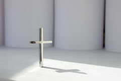 Cross. The Blessing from God. Religion Concept Stock Image