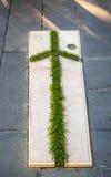 Cross in Bodbe Nunnery Monastry Stock Photo