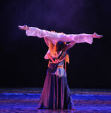 The cross of body-The dance drama The legend of the Condor Heroes Stock Photo