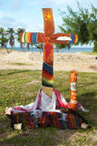 Cross of brazilian basic communities Stock Photo