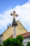 Cross in Budapest, Stock Photo