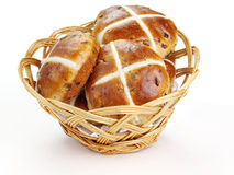Cross buns Stock Photo