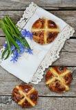 Cross buns Stock Photography