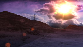 Cross on Calvary Royalty Free Stock Images