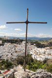 Cross in  casares Stock Images