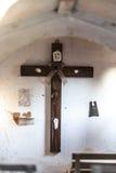 Cross from a catholic church Stock Photo