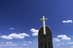 Cross Catholic Church tower Stock Photos