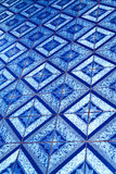 Cross ceramics in the temple kho phangan  bay  south china Royalty Free Stock Images