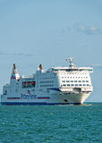 Cross Channel Cruise Ferry Stock Image