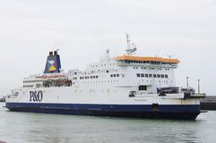 Cross Channel Ferries Royalty Free Stock Images