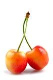 Cross cherries Stock Photos