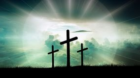 Cross, Christ, Faith, God, Jesus Stock Photo