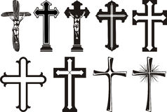 Cross - christ`s cross Stock Photos