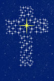 Cross of christ in stars Stock Photos
