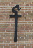 Cross. A Christian cross shown as a religious symbol stock images