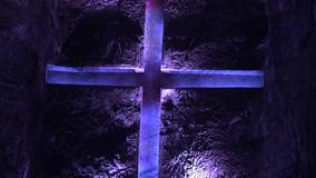 Cross, Christian, Statues, Religion stock video