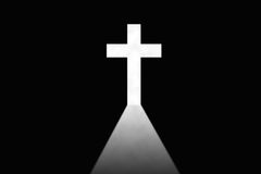 Cross Christianity sign Royalty Free Stock Photography