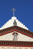 Cross and church Royalty Free Stock Images