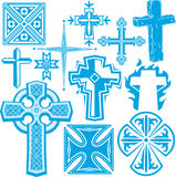 Cross Collection Stock Photography