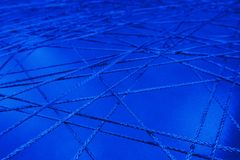 Connecting lines rope intersecting network mesh close up web channels pipeline abstract royalty free stock photos