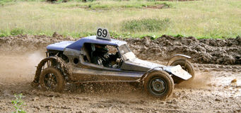 Cross-country buggy race Stock Photos