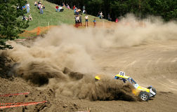 Cross-country buggy race Stock Image