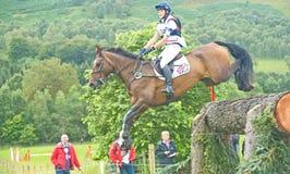 Cross Country: International Horse Trials 2011. Stock Photos