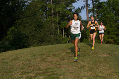 Cross Country. JACKSONVILLE, FLORIDA-AUGUST 31: Runners compete in the University of North Florida Cross Country Challenge on August 31, 2013 in Jacksonville Stock Photos