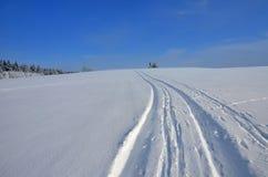 Cross Country-Landschaft Lizenzfreies Stockfoto