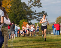 Cross Country Race Royalty Free Stock Image