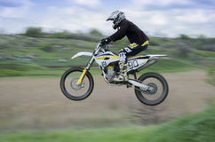 Cross-country race sport for real men Royalty Free Stock Images
