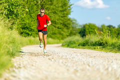 Cross country running Royalty Free Stock Image
