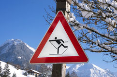 Cross country winter Stock Photography