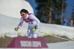 Cross-country ski Stock Photo