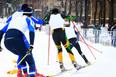 Free Cross Country Ski Race Stock Photos - 7565243
